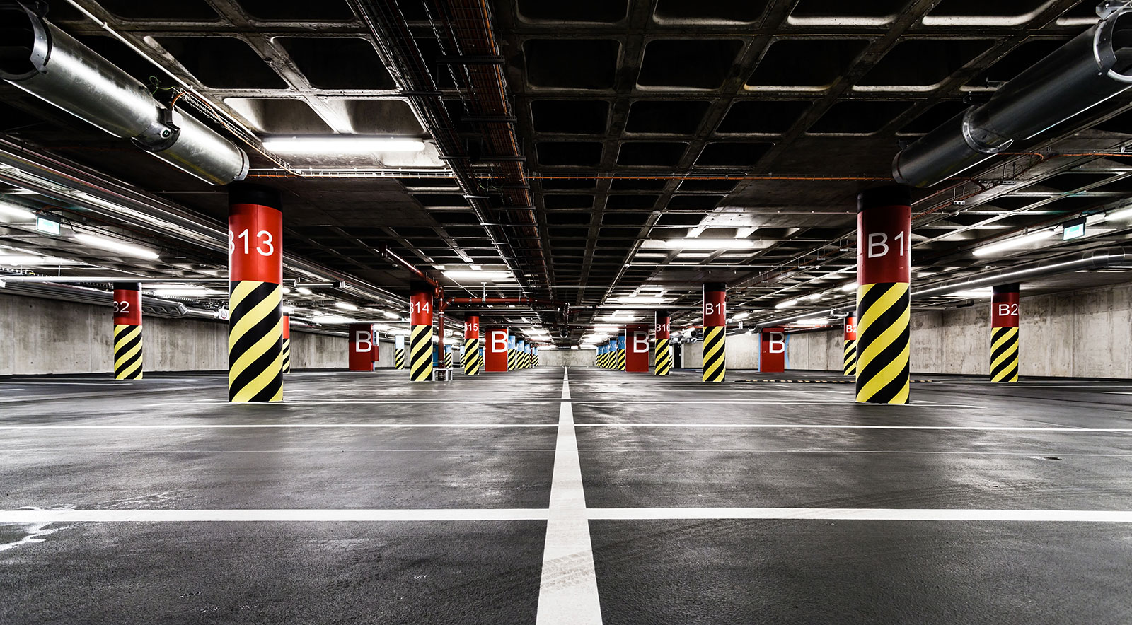 Led Lighting For Parking Garages And Parking Lots